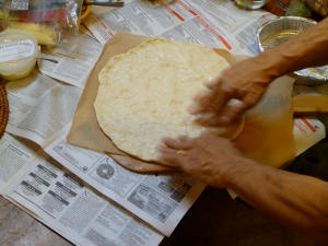 Making Gourmet Pizza; preparing your pizza dough