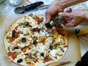 making your pizza at home sauce